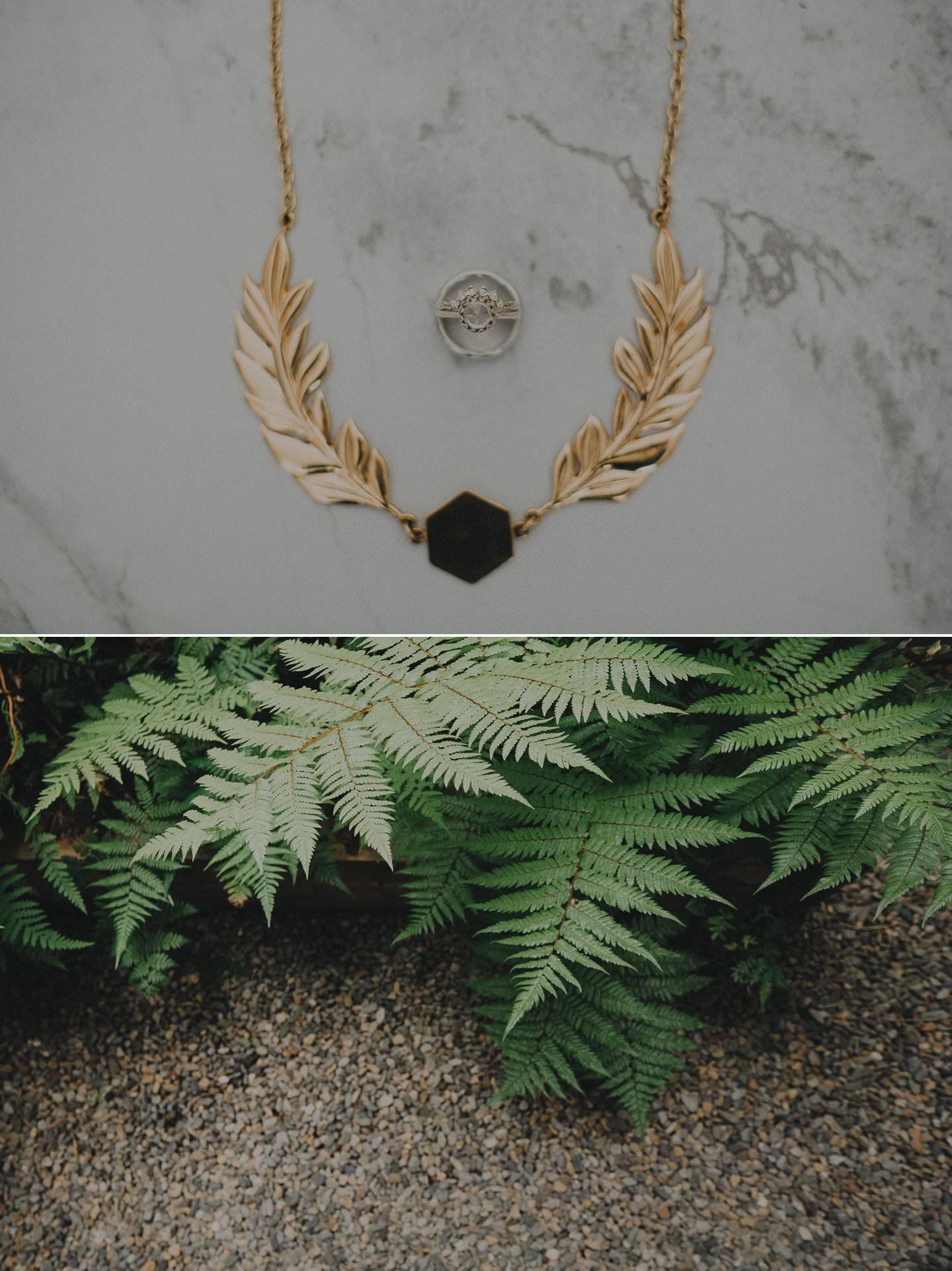 Bridal jewelry from Meadowlark