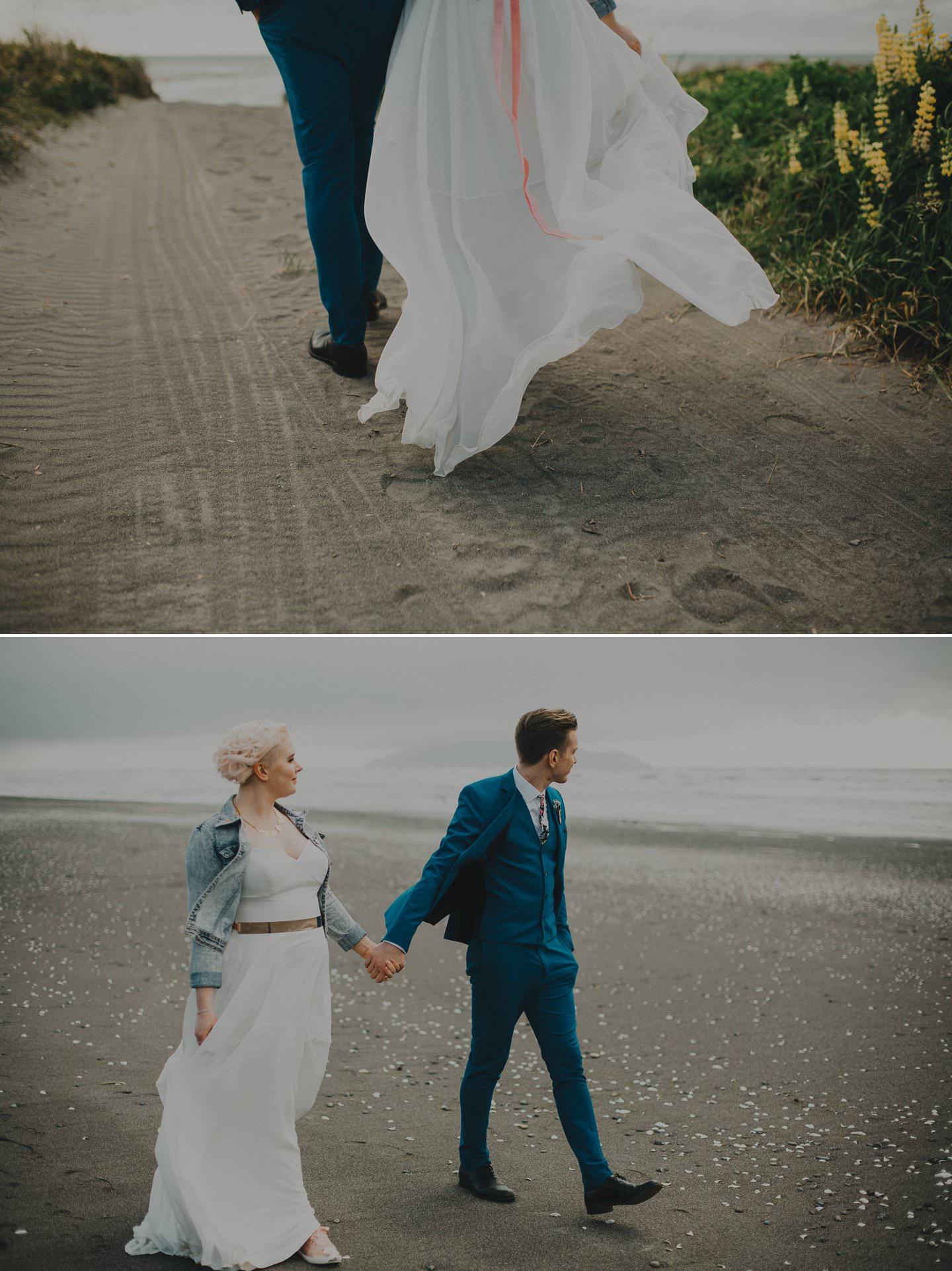 Kapiti beach wedding