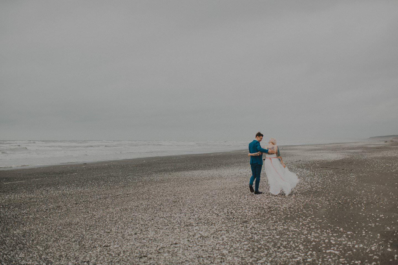Otaki beach wedding. New Zealand wedding photographer