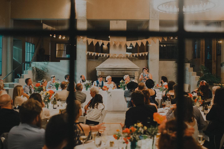 Wedding reception at the Milk Station Otaki