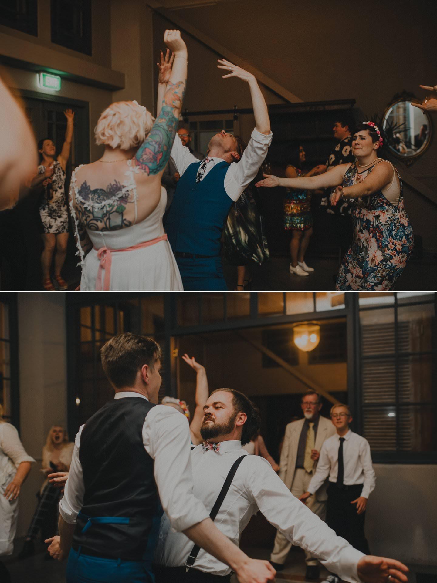 Wedding dance floor photos
