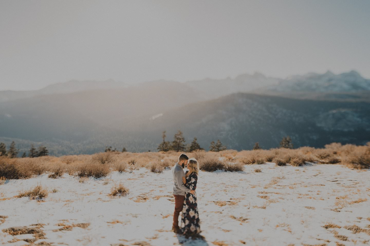 Wedding in the snow. New Zealand Wedding Photographer