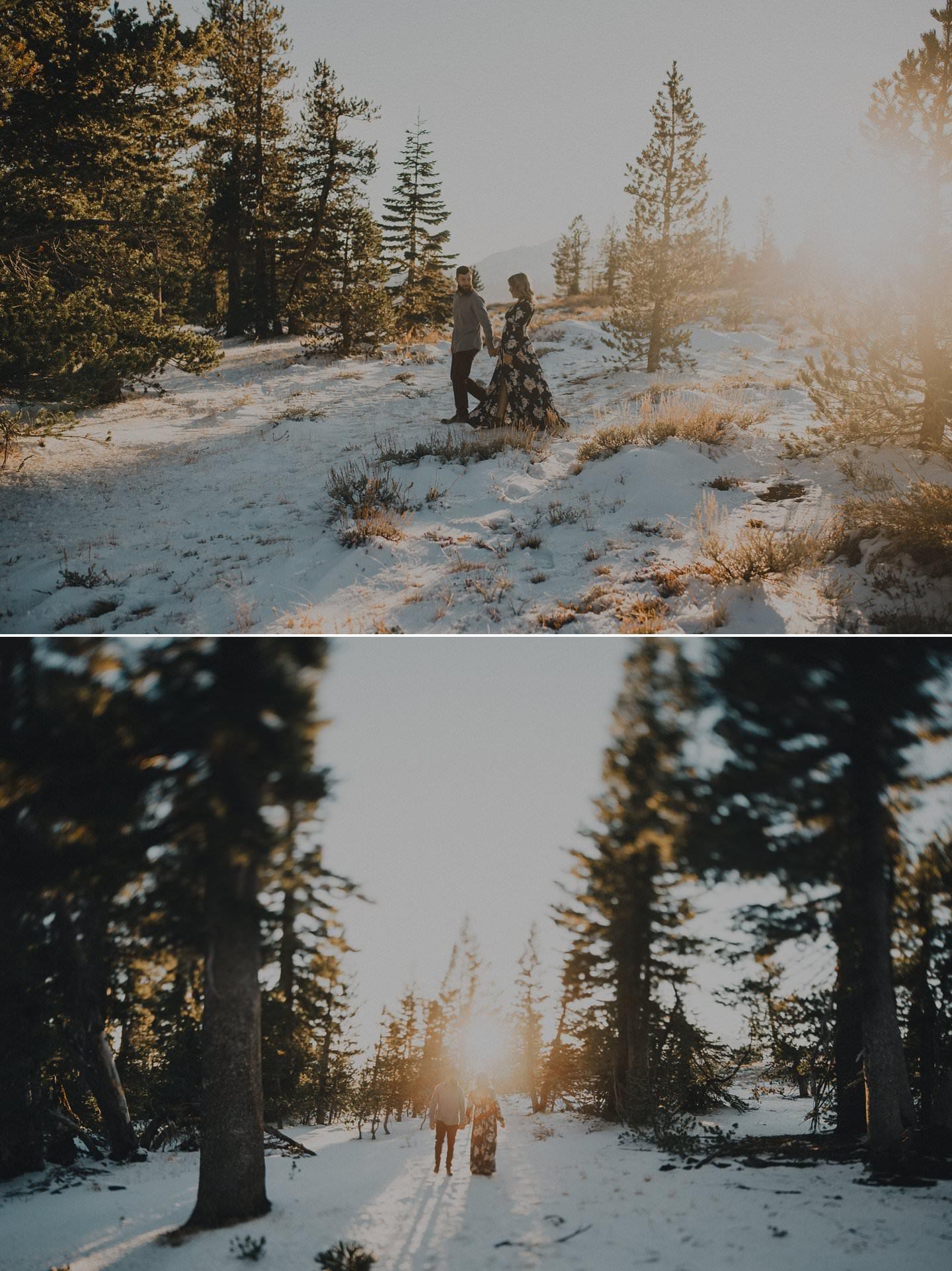 Winter wedding photography ideas.