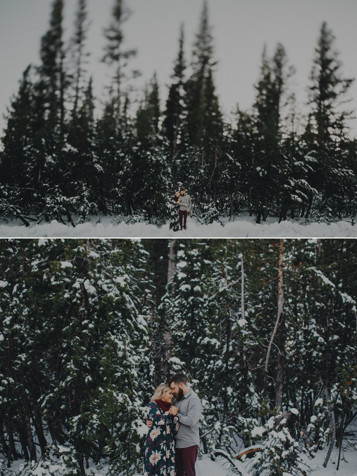 Winter engagement shoot ideas