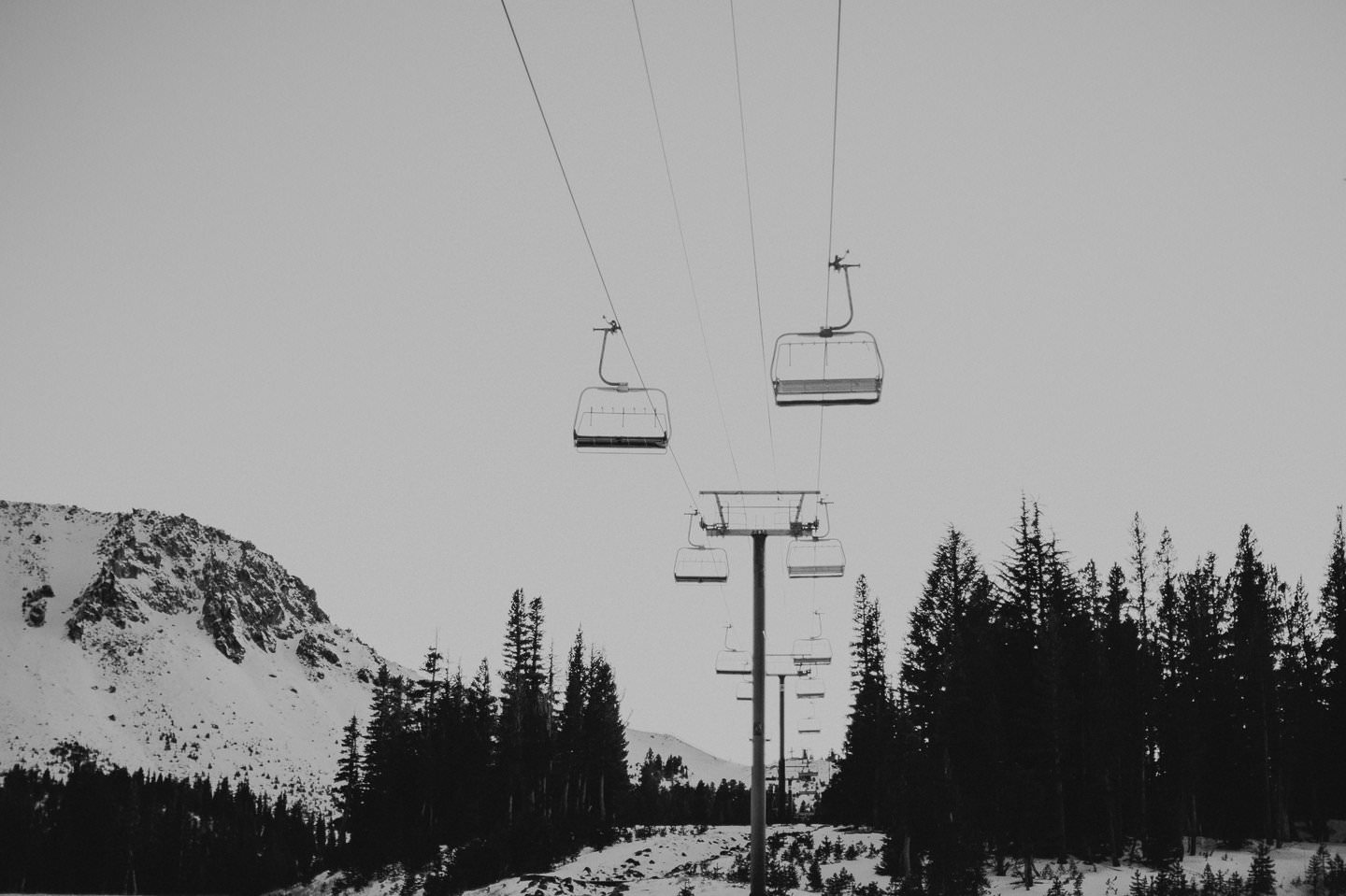 Mammoth Lakes ski resort