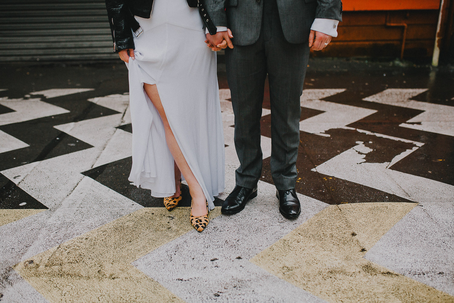 Wellington lane way wedding