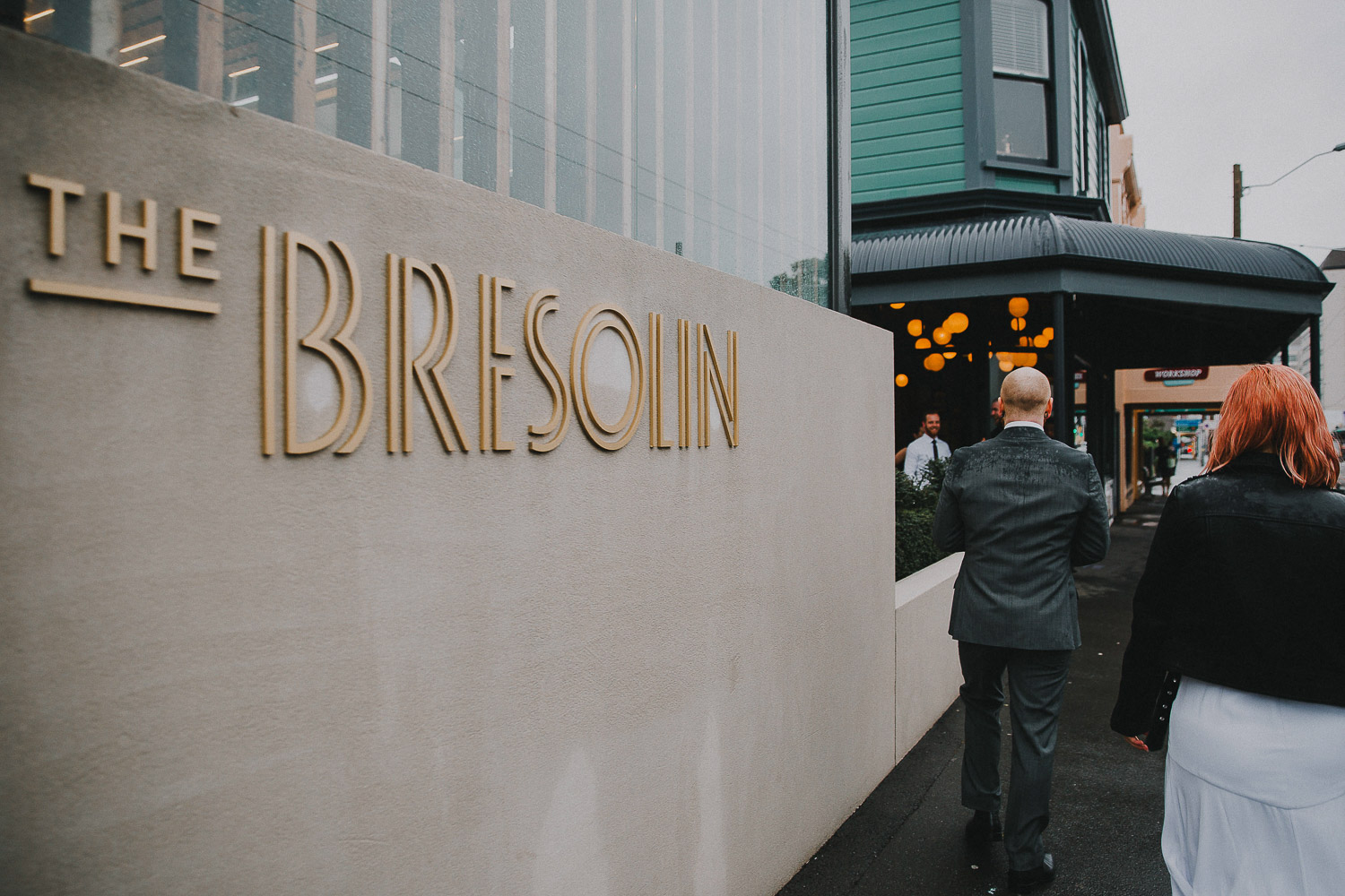 Wedding at the Bresolin restaurant