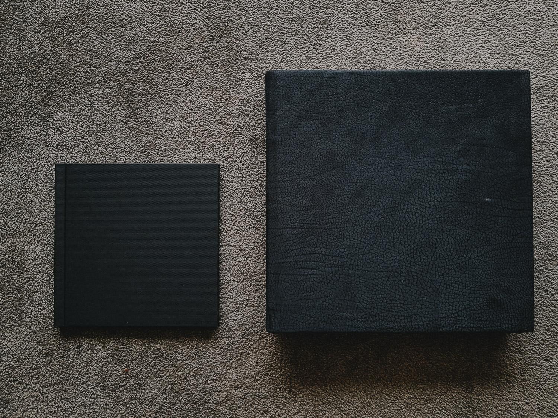 "8 x 8"" Photobook vs 12 x 12"" Flushmount Album"