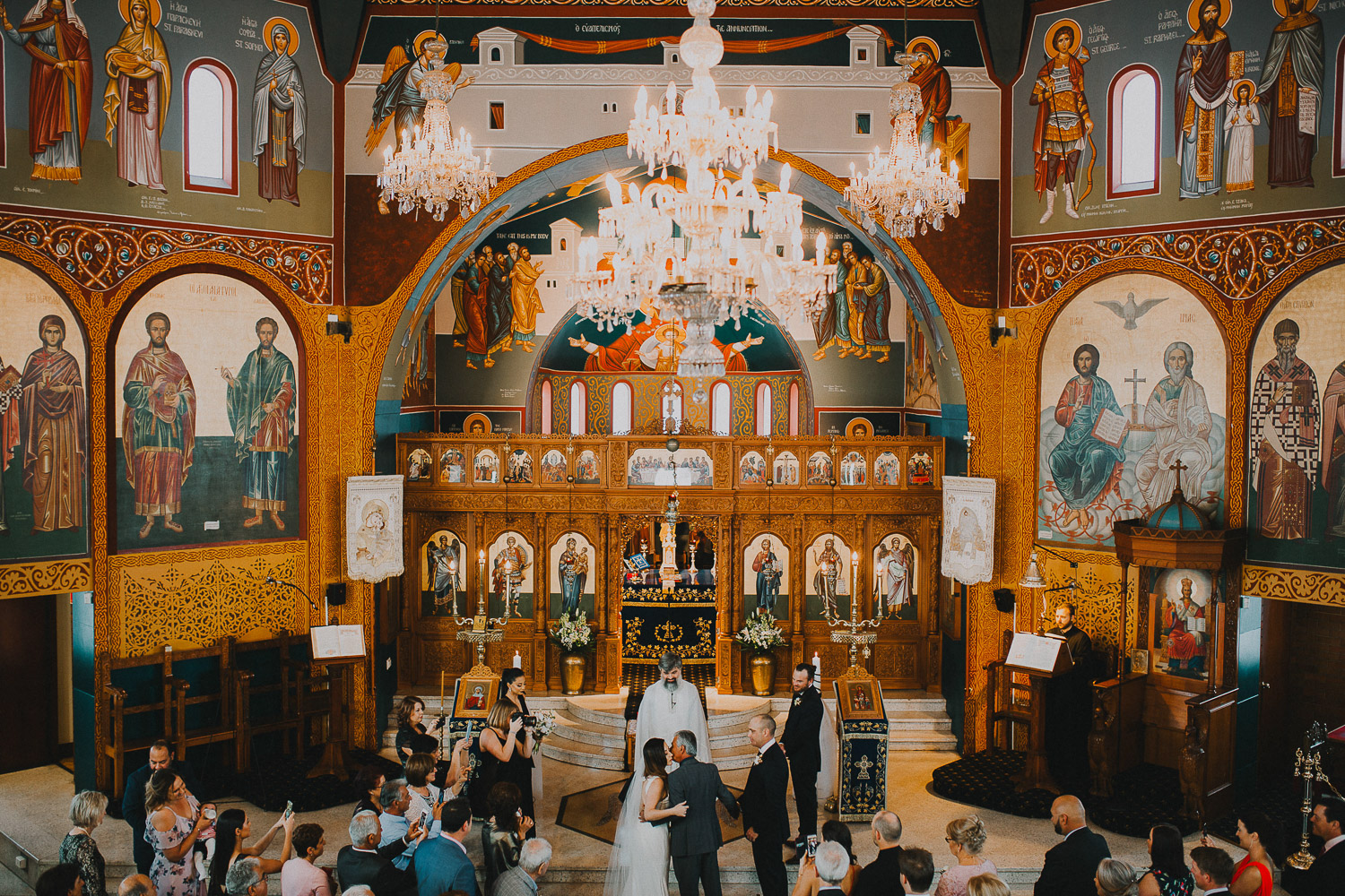 Stunning orthodox greek wedding