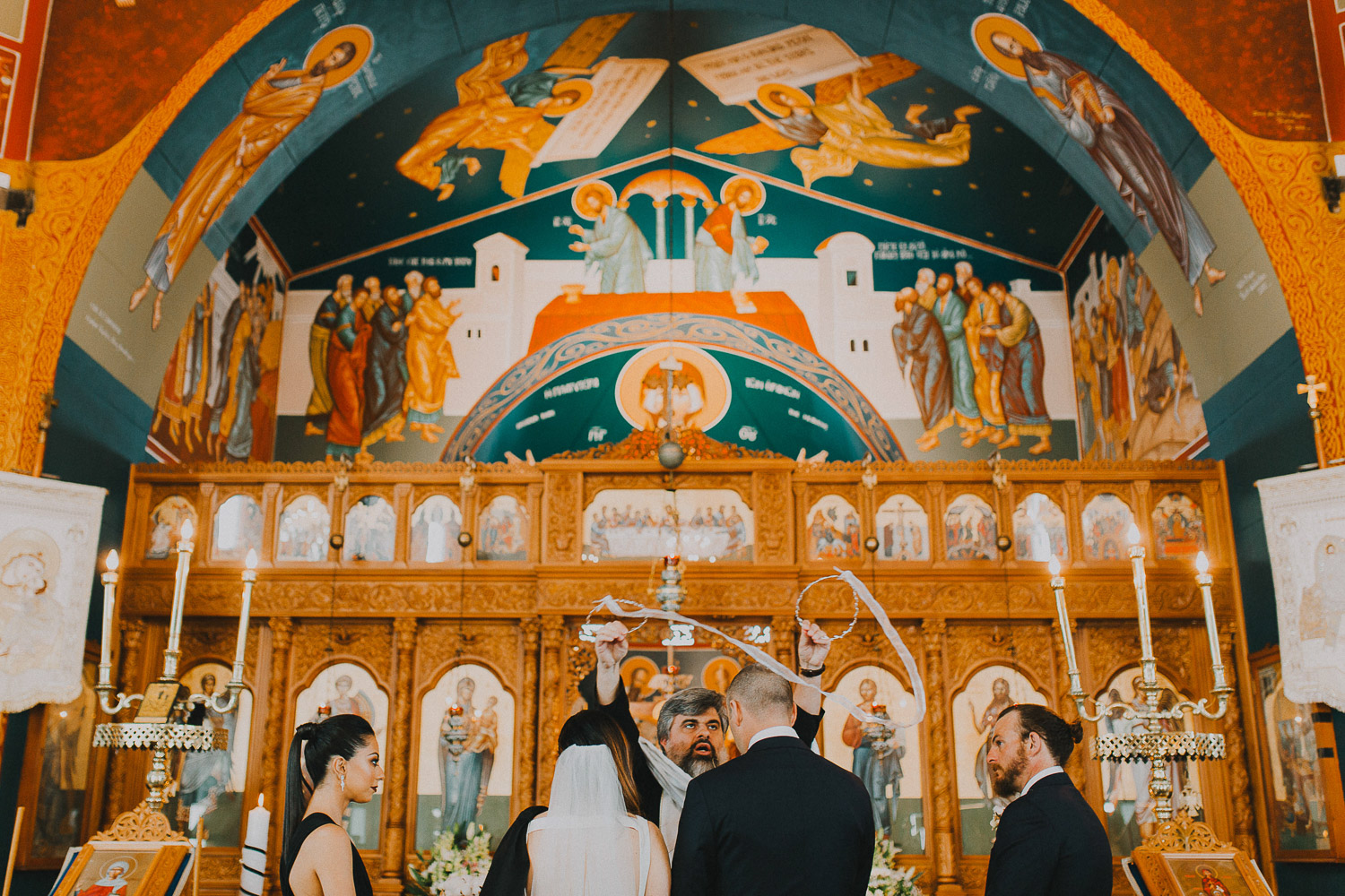 Greek wedding rituals