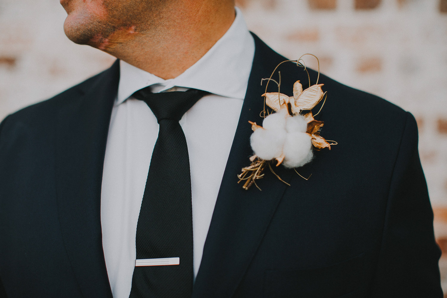 Creative groom buttonhole ideas
