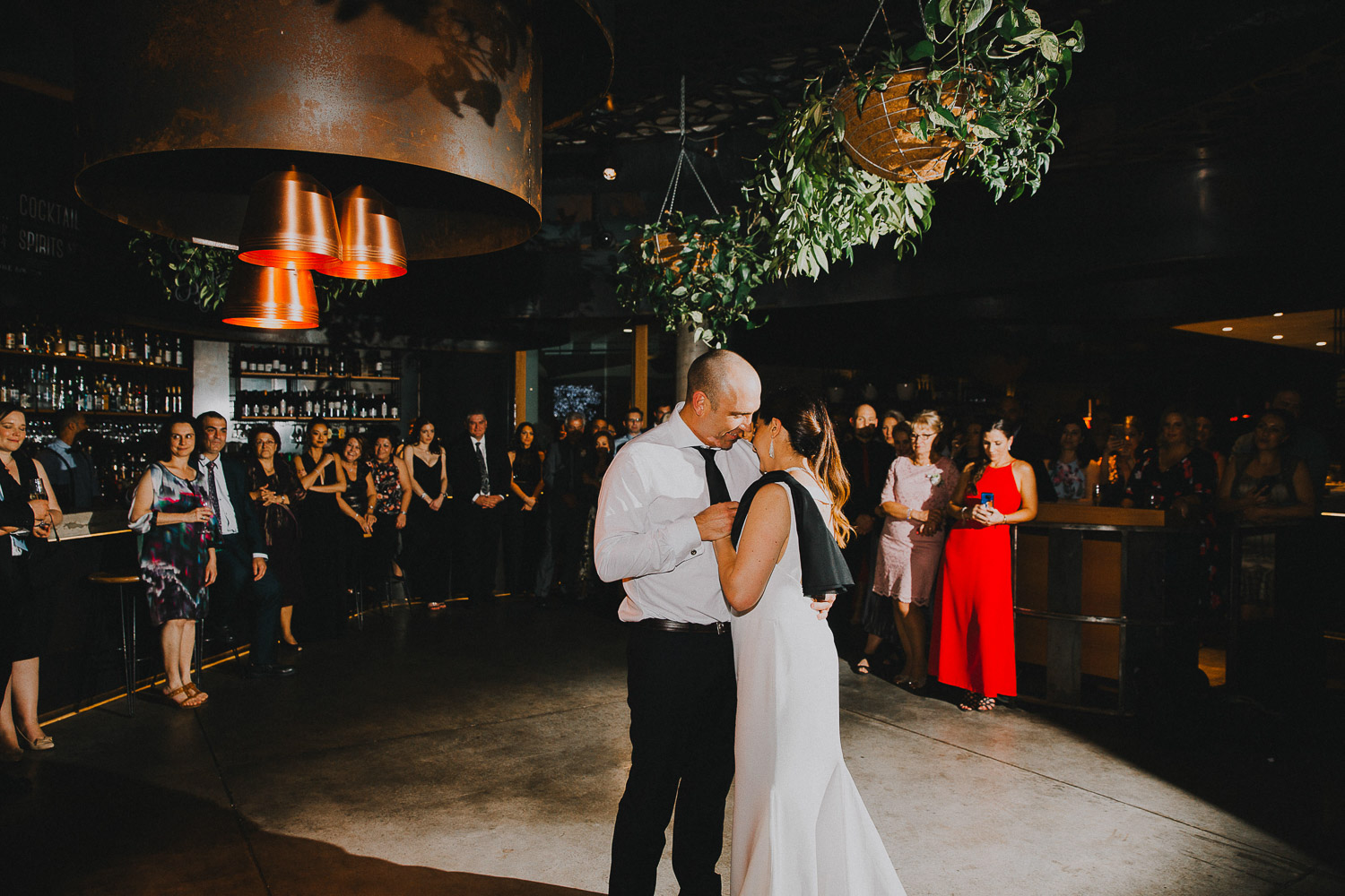 First dance wedding photo at Pony Resturant Brisbane