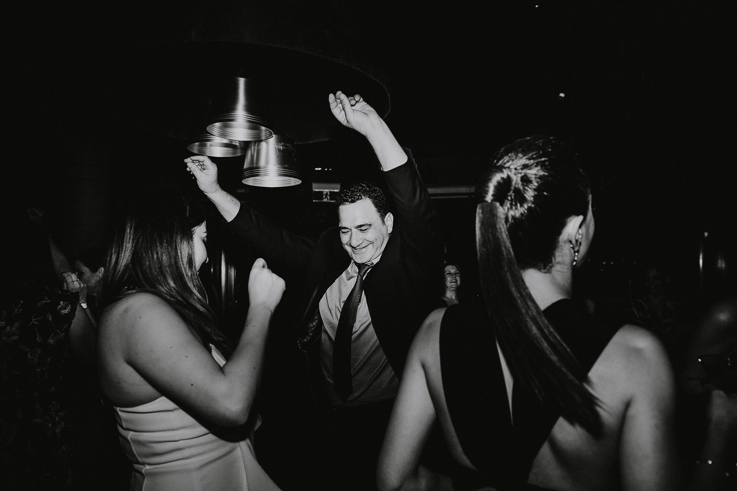 Wedding dancefloor photography