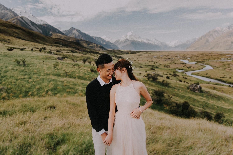 Pre-wedding photography Tekapo Mt Cook | http://patina.photo