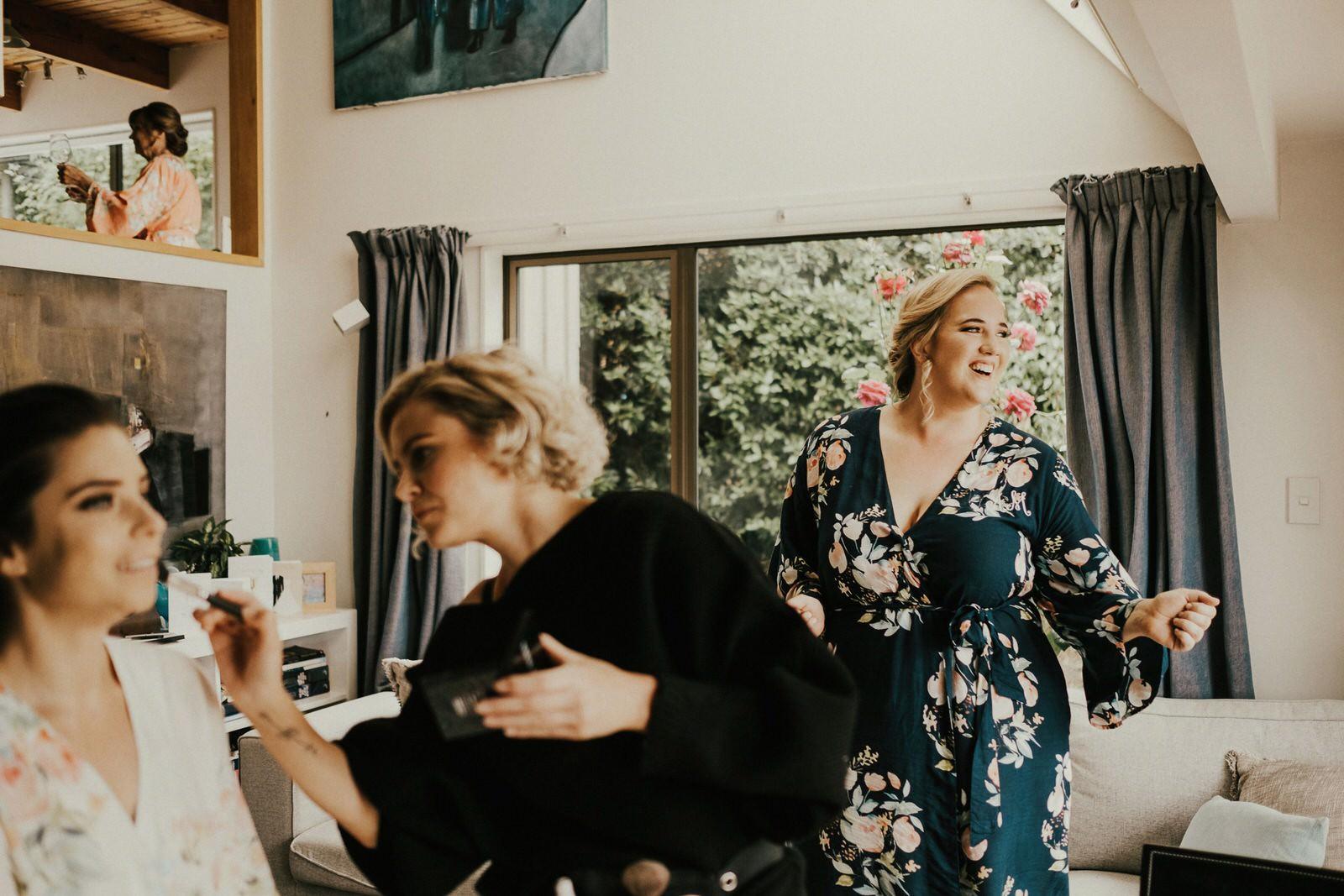 queenstown wedding hair and makeup