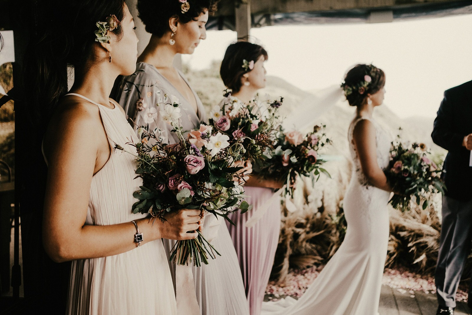 wedding photography looks like film