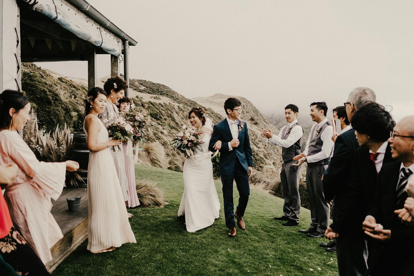 Wellington photojournalistic wedding photography