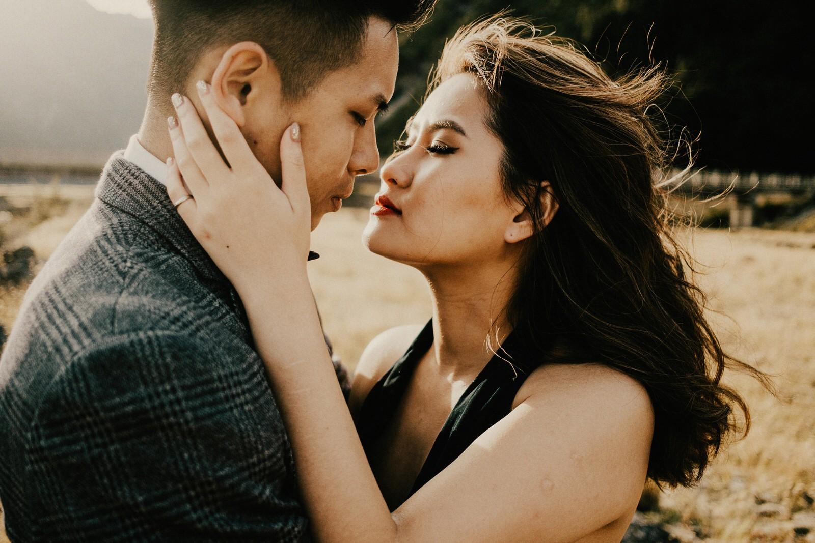 Pre-wedding photos at Mt Cook National Park, New Zealand