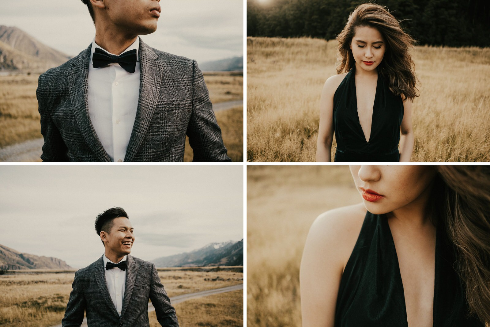 Pre-wedding photos at Mt Cook National Park, New Zealand