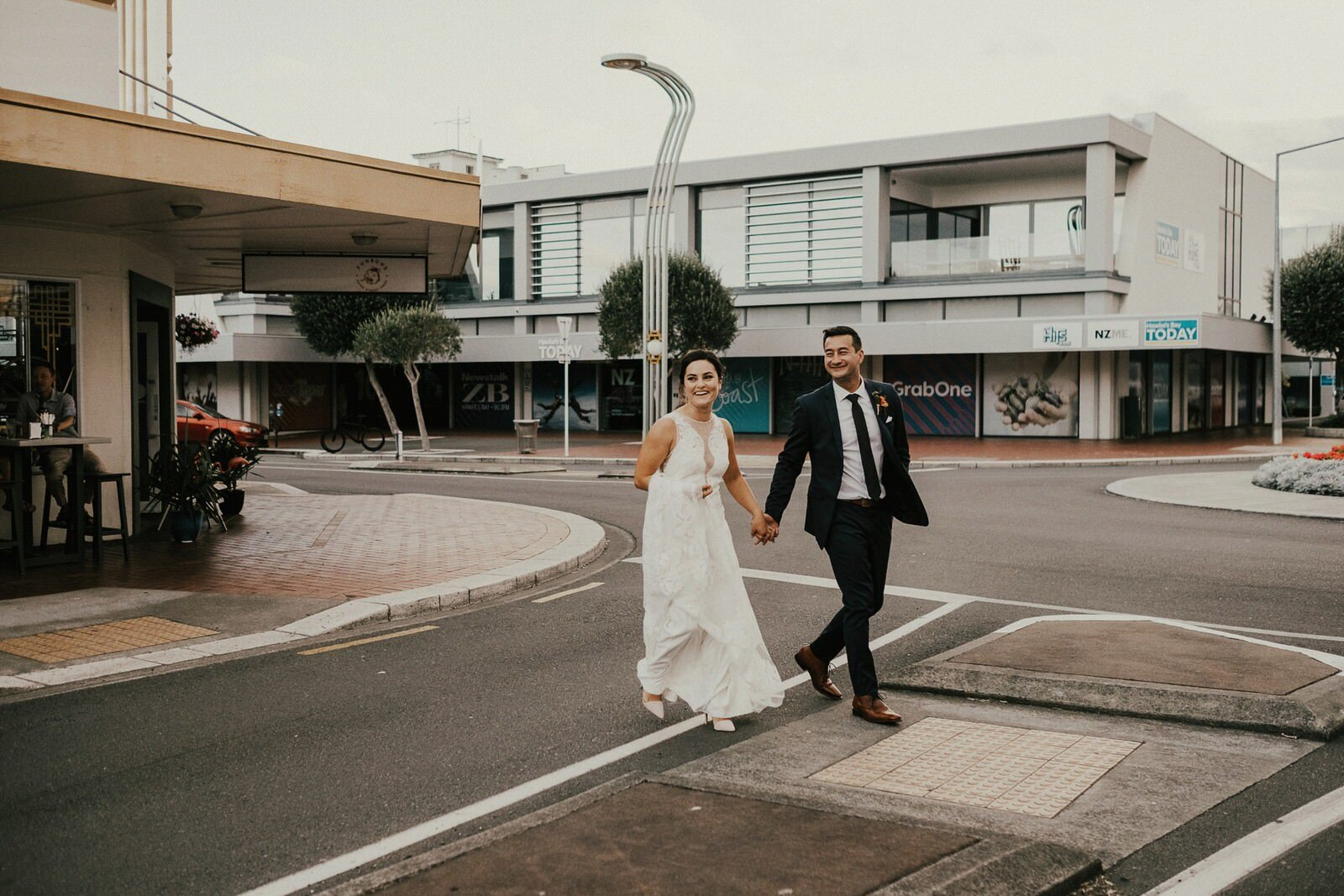 Urban Wedding Photos in Hawkes Bay