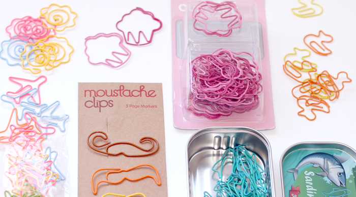 paper clip collection for paper clip cards - BITA