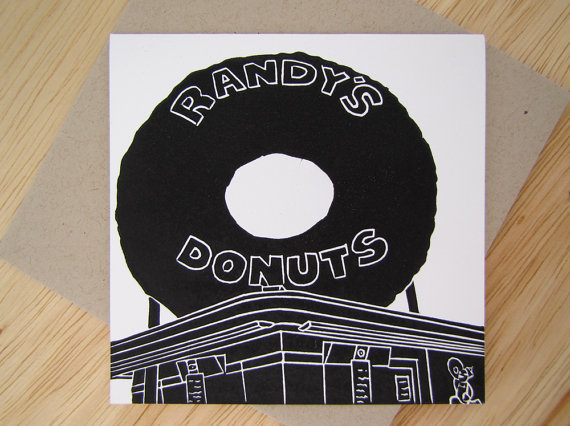 Randy's Donut Single Card