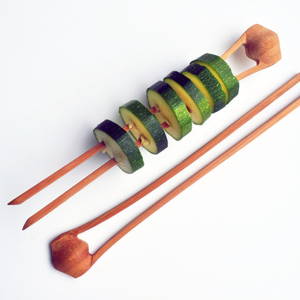 Double Bamboo Skewers