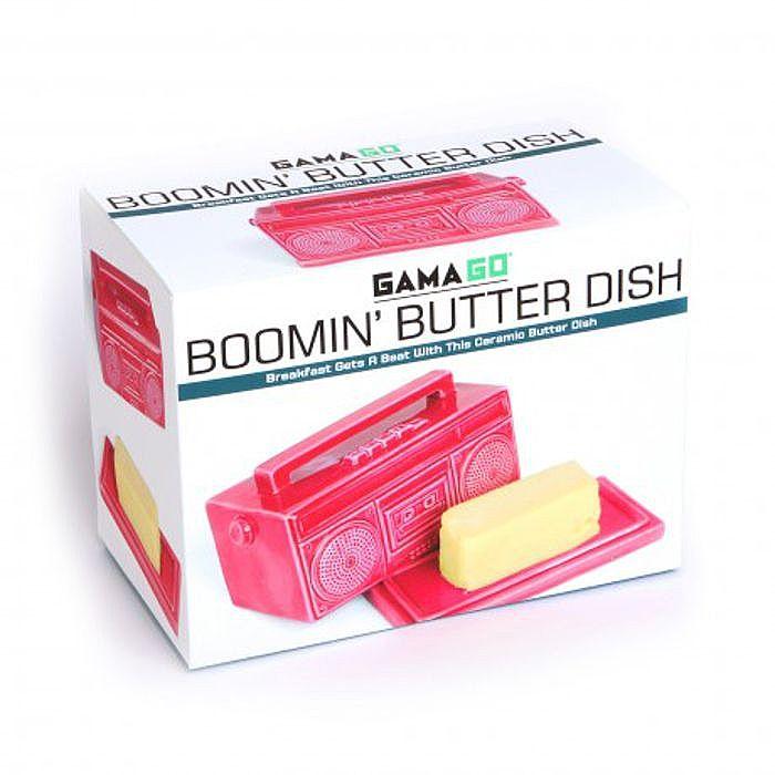 Gama-Go Boombox Butter Dish