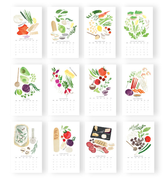 Red Cruiser Hors d'oeuvres Calendar