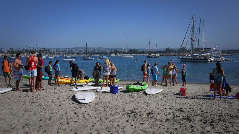 students meet their vessels