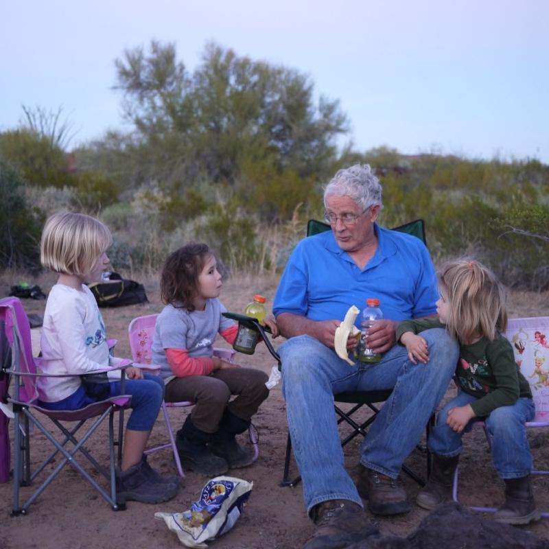 Paul Dayton, educating the next generation (while rehydrating)