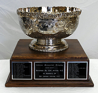 AIKINS MEMORIAL TROPHY