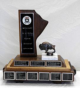 Dr. Willis S. Prowse Memorial Trophy