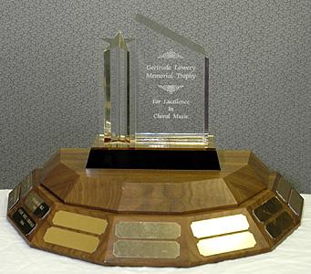 Gertrude Lowery Memorial Trophy