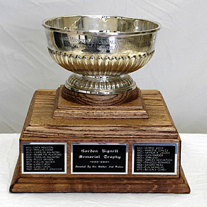 Gordon Hignell Memorial Trophy