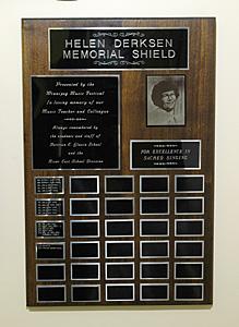 Helen Derksen Memorial Shield