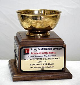 Long & McQuade Trophy
