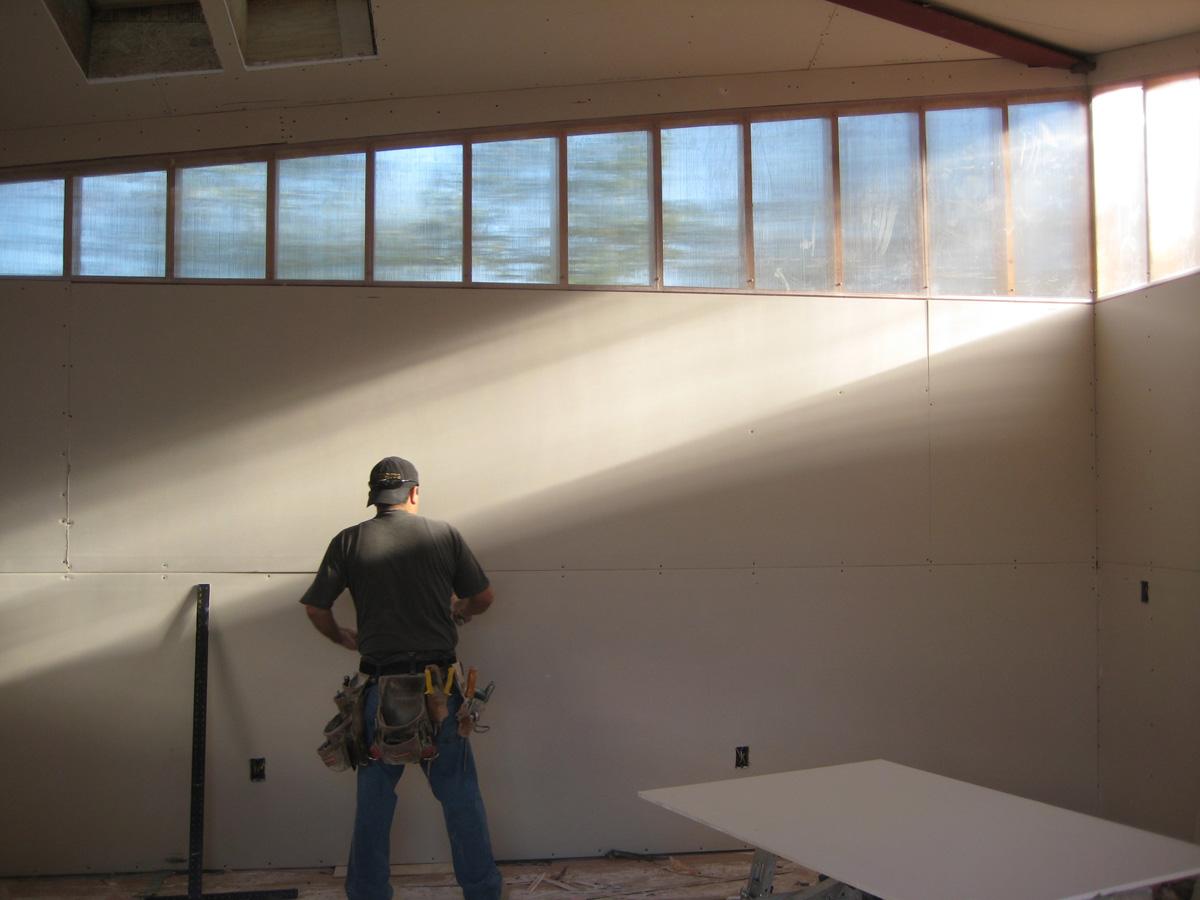 2. artist studio - interior - construction phase.jpg