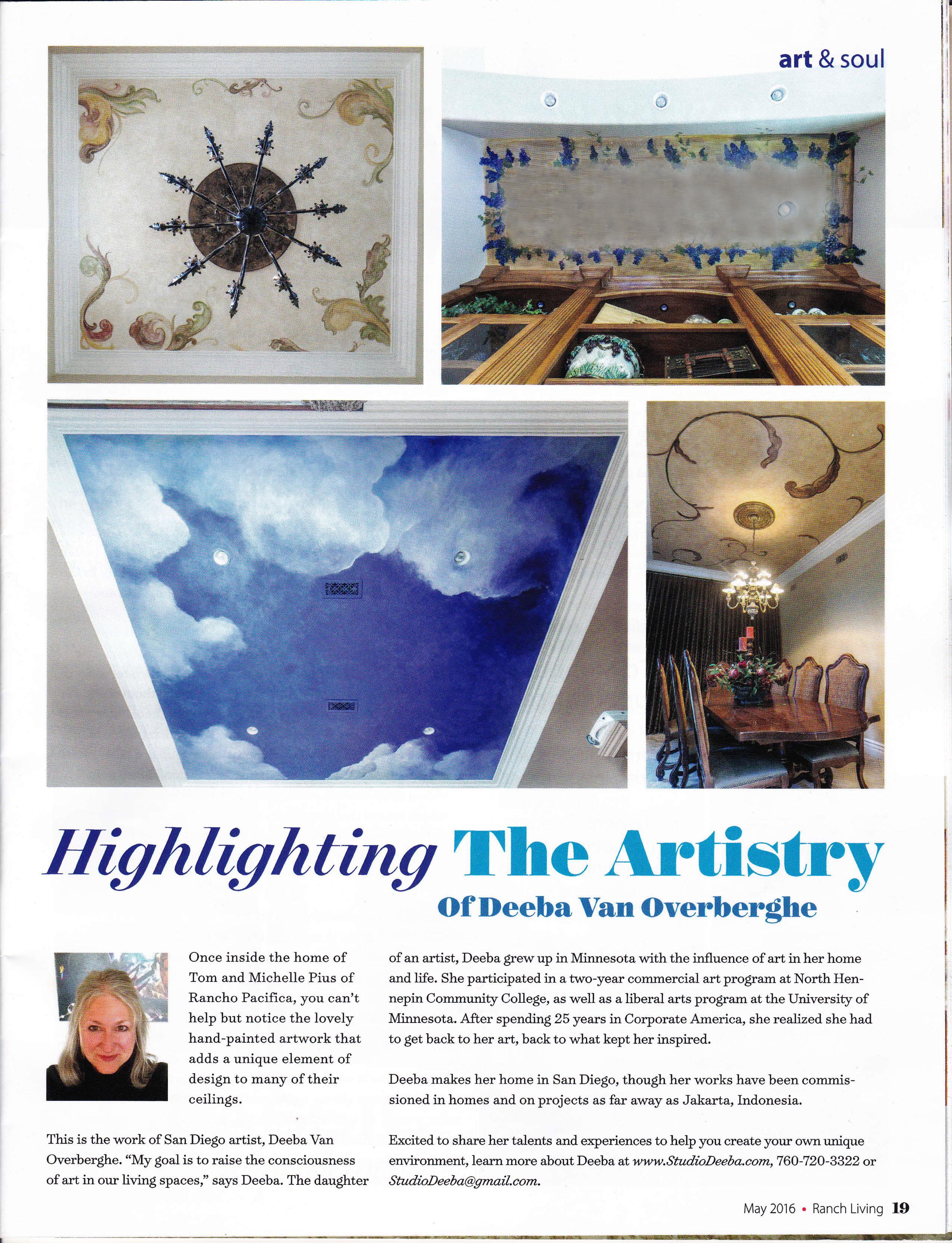 Feature Article Studio Deeba