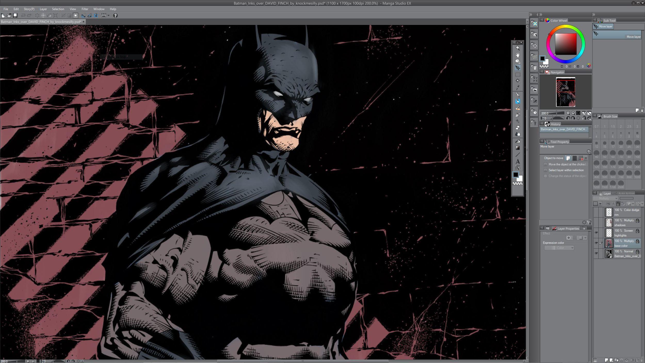 Batman flat.JPG