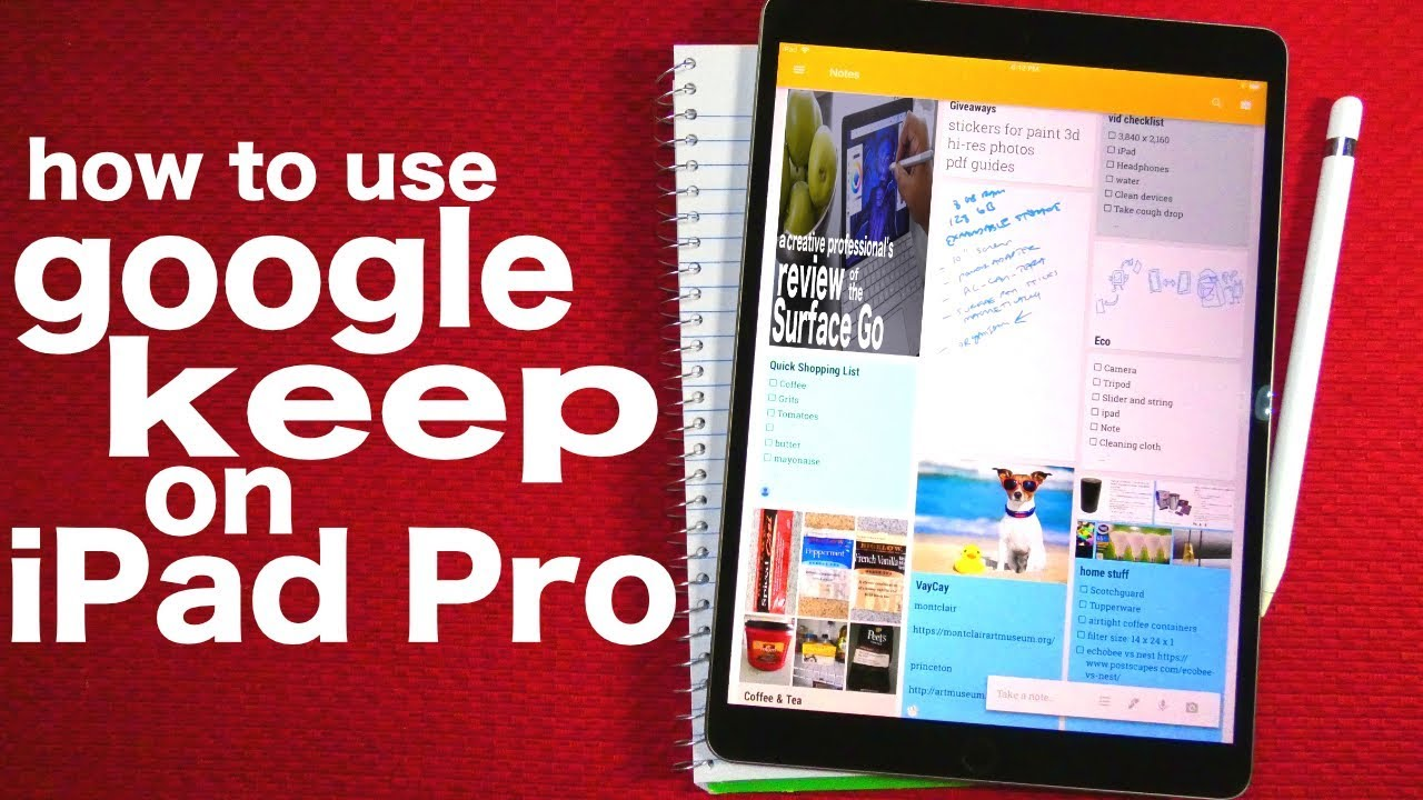 learn google keep -