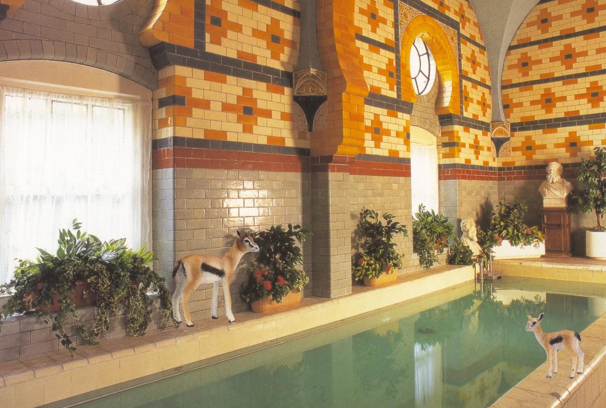 Gazelles at the Harrogate Baths