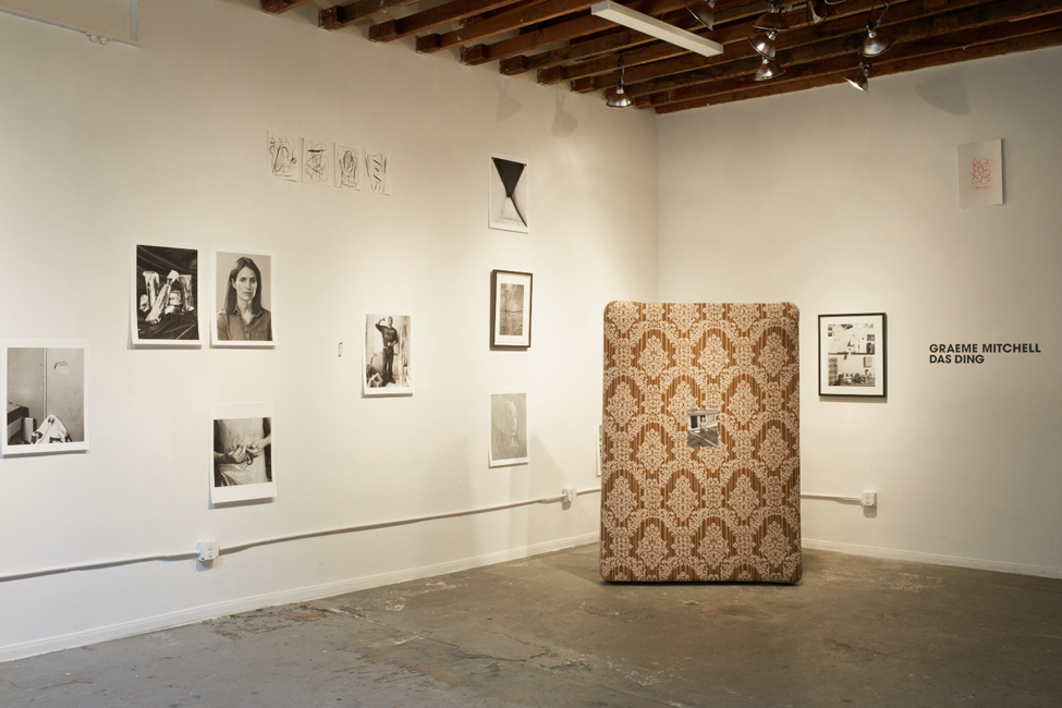 Installation view of  Das Ding at Widling Cran Gallery