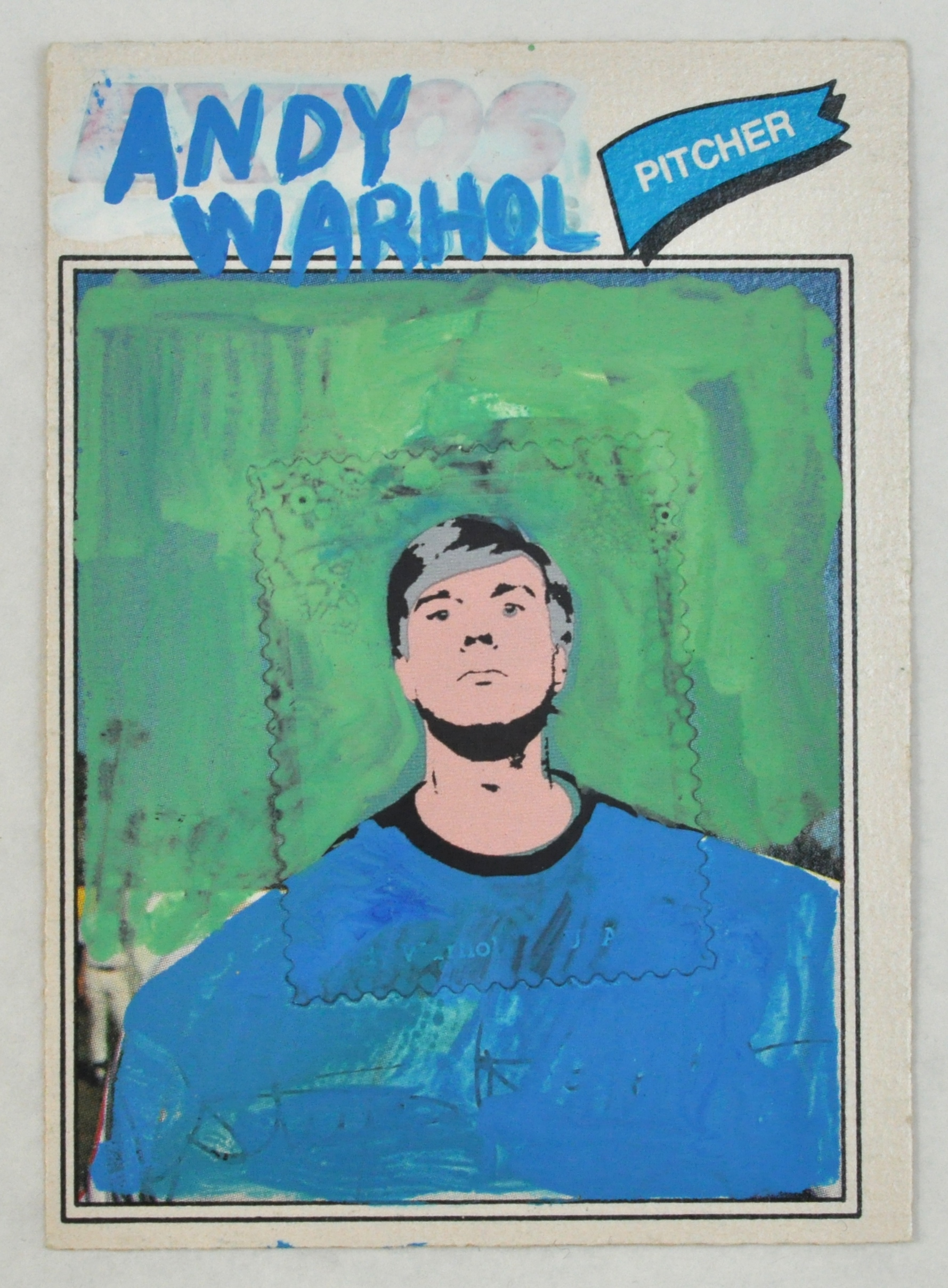 Sporting Card #15 (Andy Warhol)