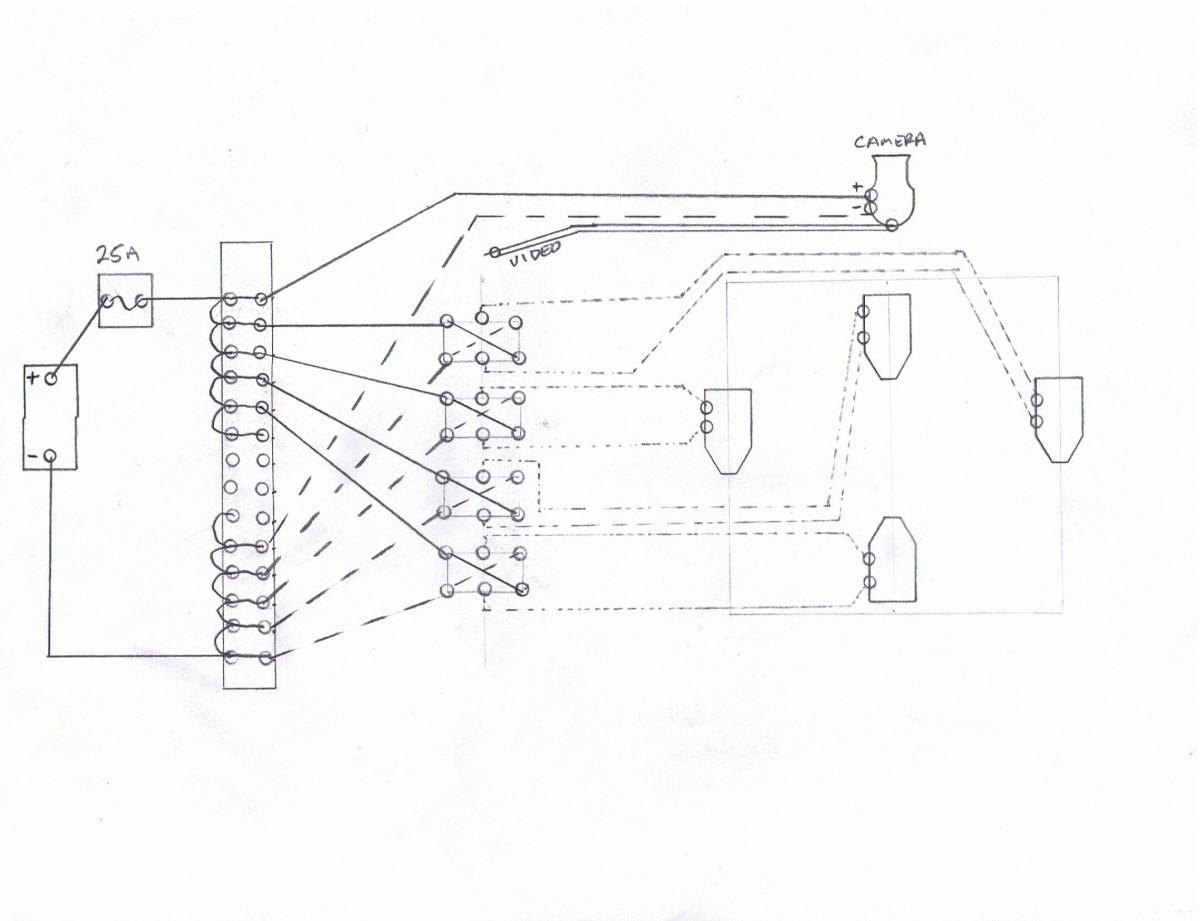 2012, Art- ROV's Circuit Diagram