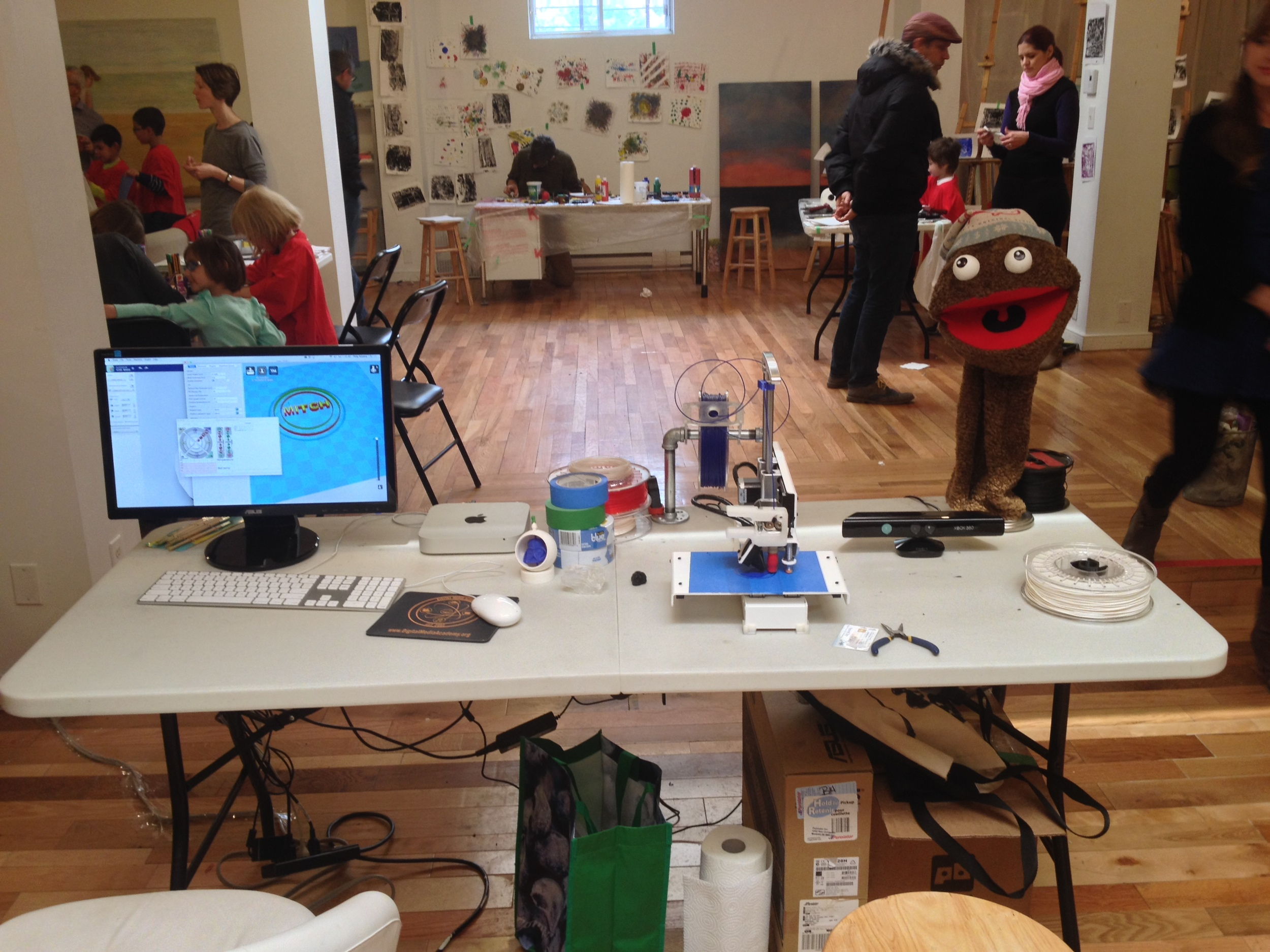 Tabletop Makerspace, 2015