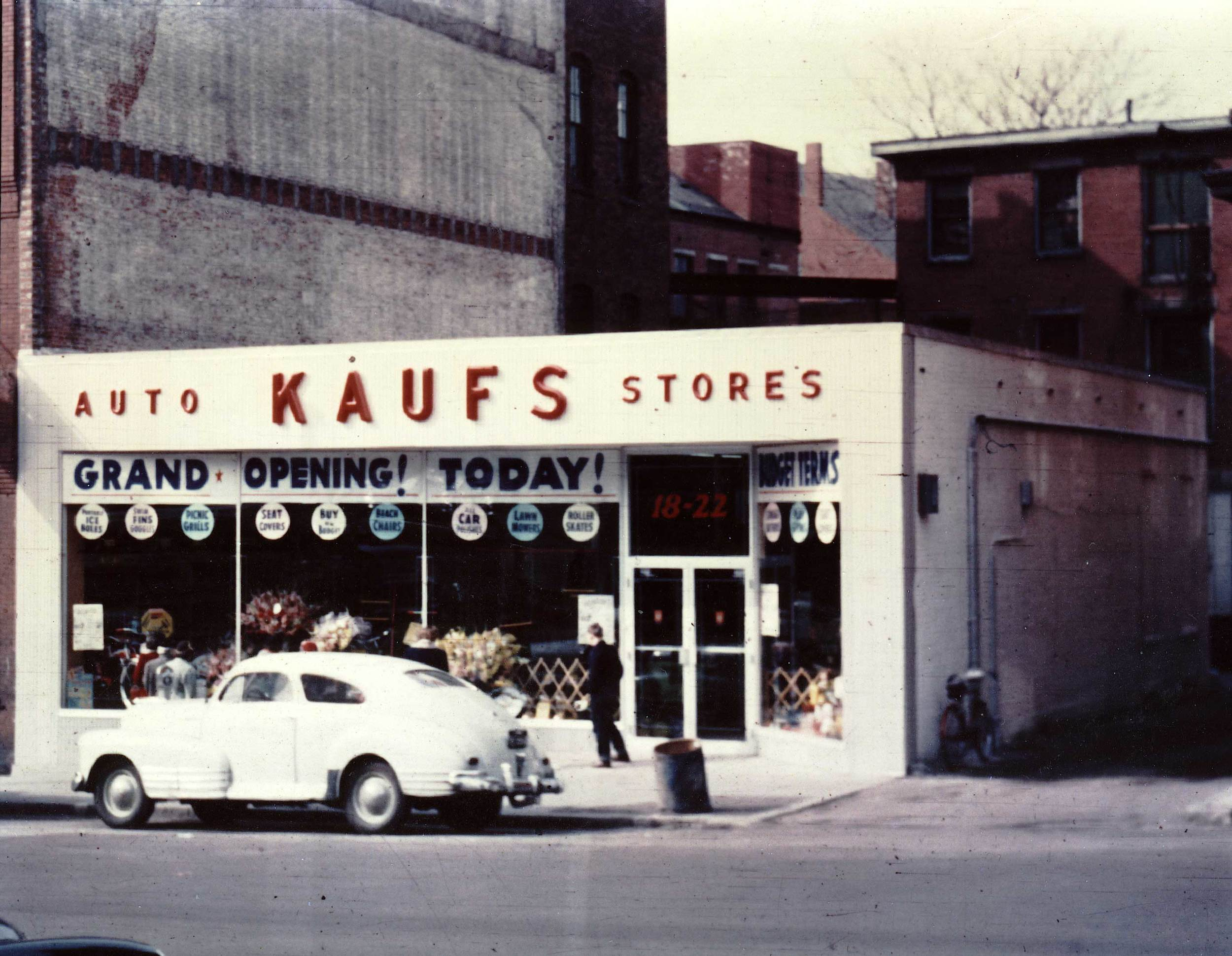 This was the store my father managed when I was a kid in Haverhill, Mass.