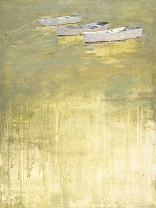 Three Boats  -reproduction-