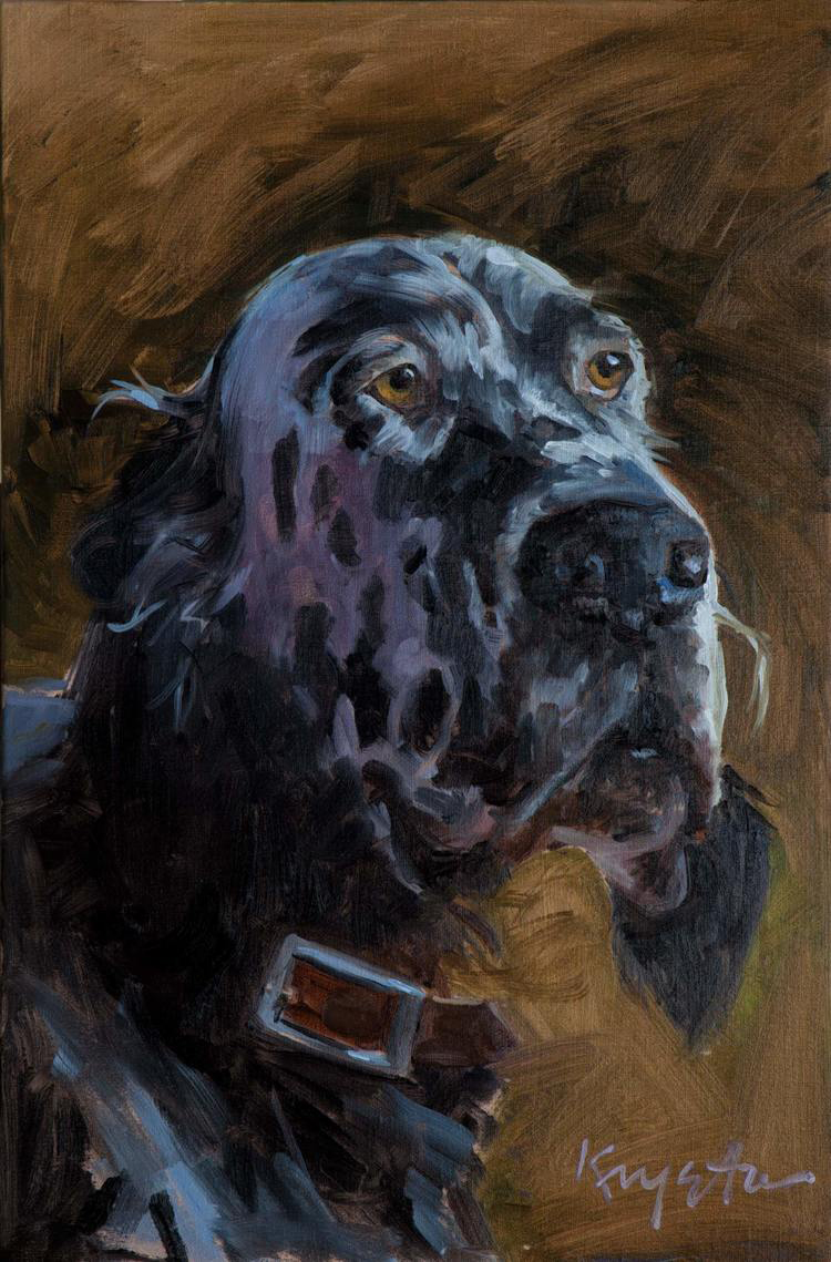 Sir Ducan 16 x 12 oil on linen