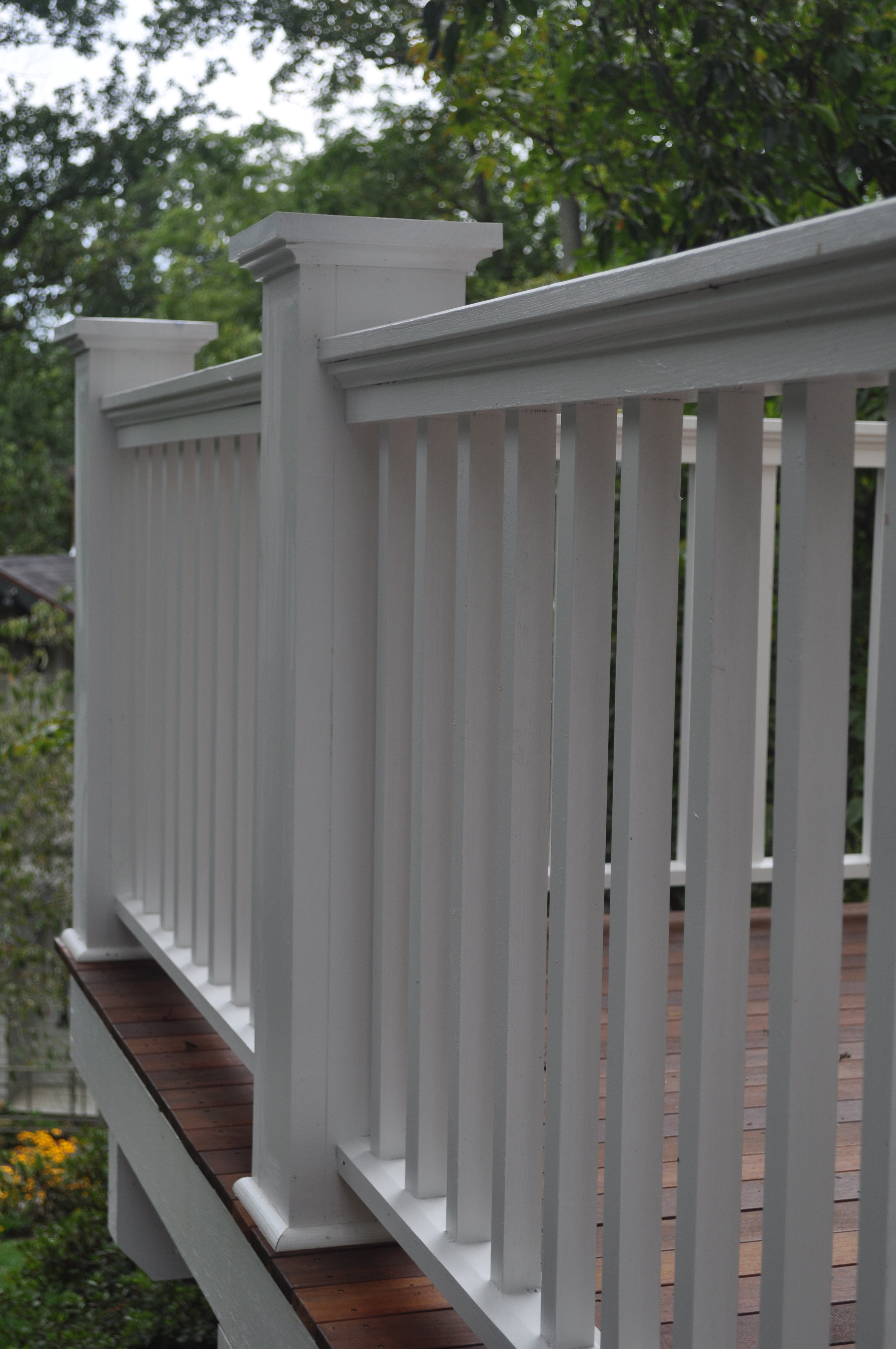 Historic 1920's Bungalow, Detail of handrail.